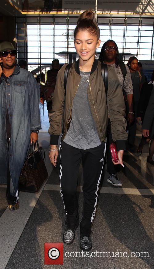 Zendaya Zendaya departs from Los Angeles International Airport