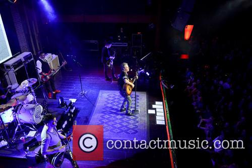 Jesse Triplett, Ed Roland, Johnny Rabb, Will Turpin, Dean Roland and Collective Soul 1
