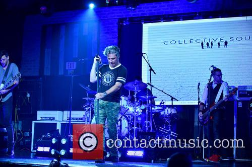 Jesse Triplett, Ed Roland, Johnny Rabb, Will Turpin and Collective Soul 1