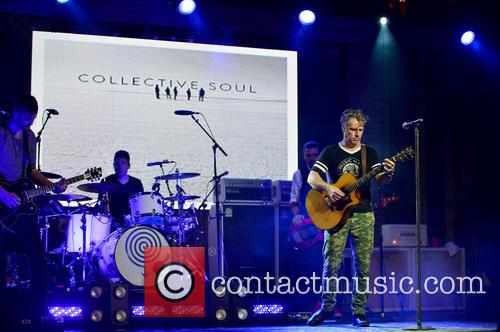 Jesse Triplett, Johnny Rabb, Will Turpin, Ed Roland and Collective Soul 1