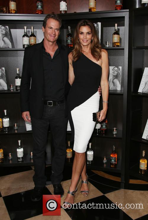 Rande Gerber and Cindy Crawford 1