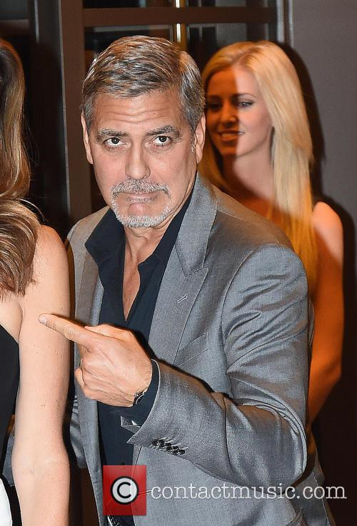 George Clooney and Cindy Crawford 4