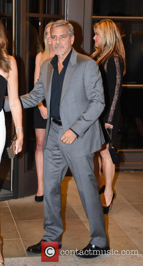 George Clooney and Cindy Crawford 8