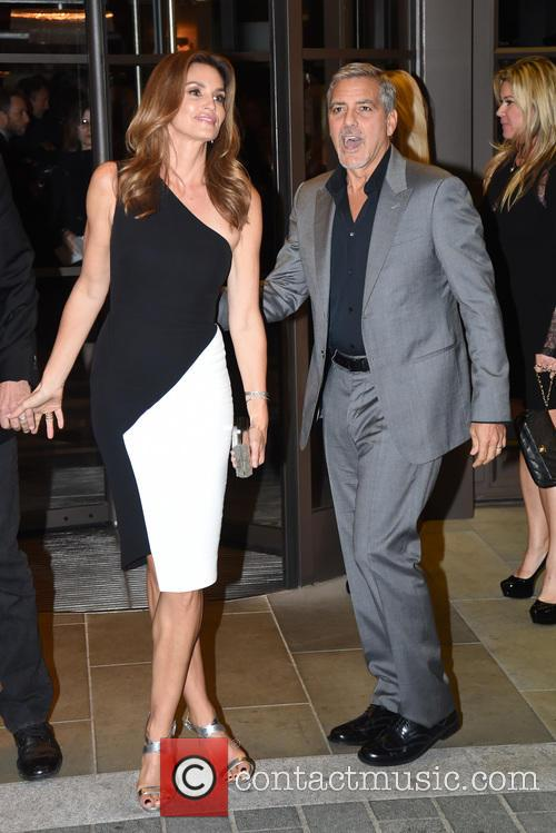 George Clooney and Cindy Crawford 10