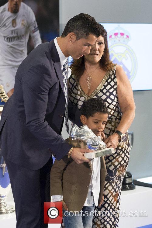 Cristiano Ronaldo and Maria Dolores Dos Santos Aveiro 2