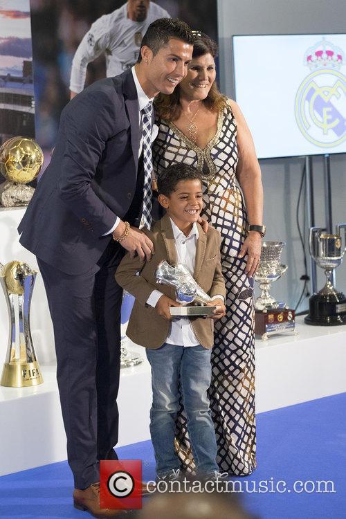 Cristiano Ronaldo and Maria Dolores Dos Santos Aveiro 3