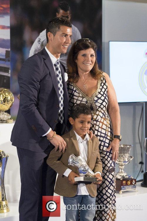 Cristiano Ronaldo and Maria Dolores Dos Santos Aveiro 4