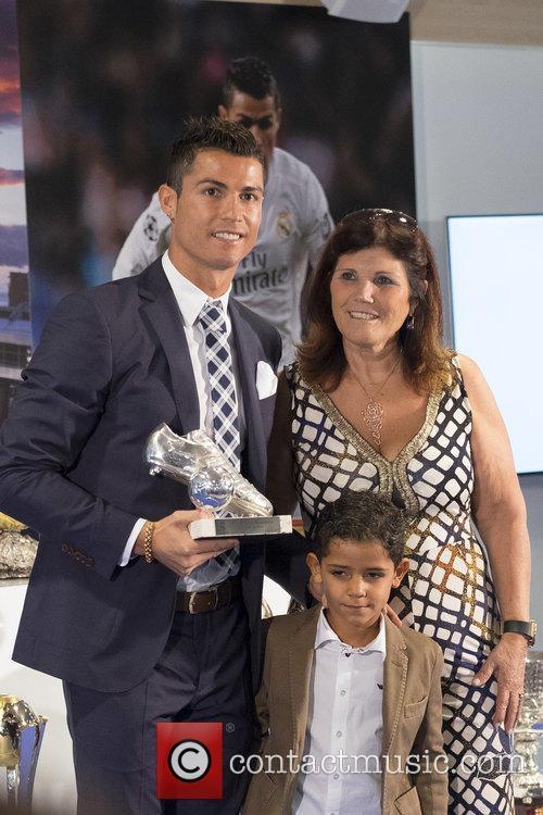 Cristiano Ronaldo and Maria Dolores Dos Santos Aveiro 1