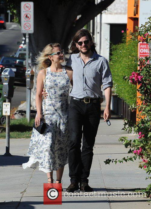 Dianna Agron and Winston Marshall 6