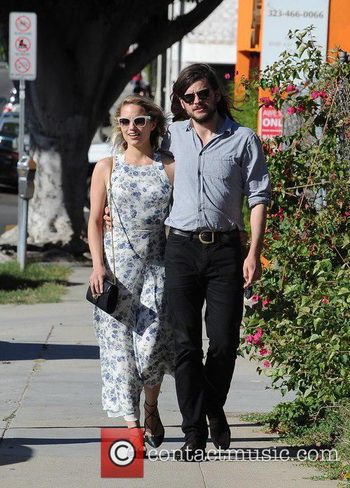 Dianna Agron and Winston Marshall 9