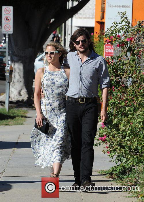 Dianna Agron and Winston Marshall 10