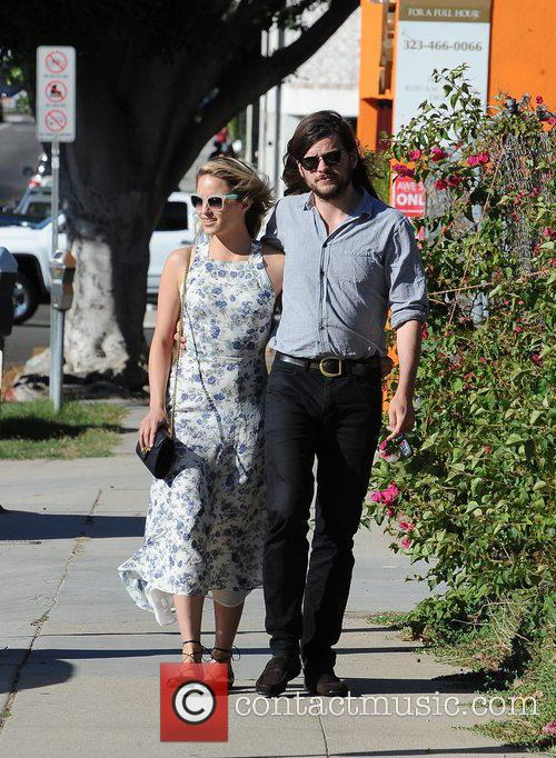 Dianna Agron and Winston Marshall 11