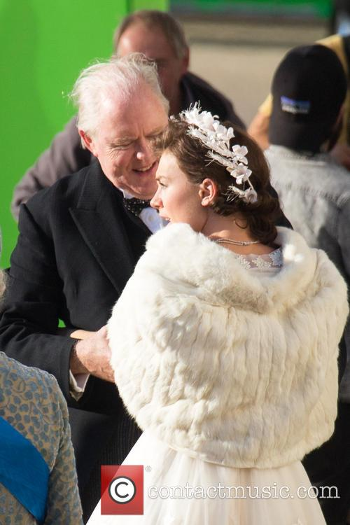 Vanessa Kirby and John Lithgow 2