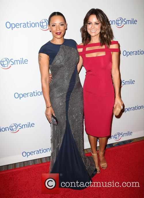 Mel B and Brooke Burke-charvet 1