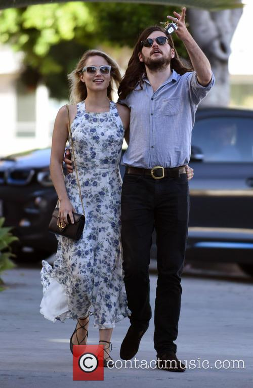 Dianna Agron and Winston Marshall 4