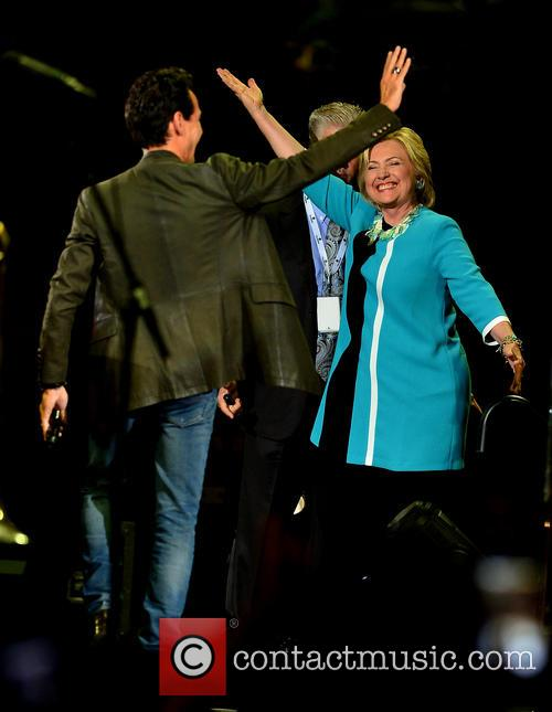 Marc Anthony and Hillary Clinton 3