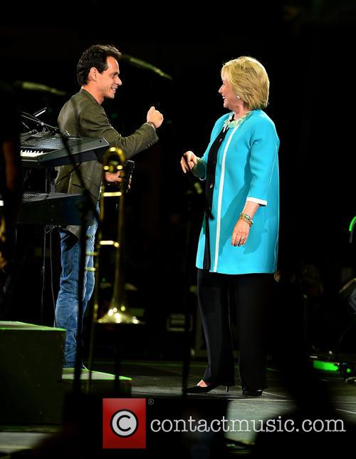 Marc Anthony and Hillary Clinton 6