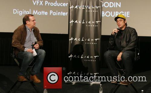 Benicio Del Toro and Guest 3