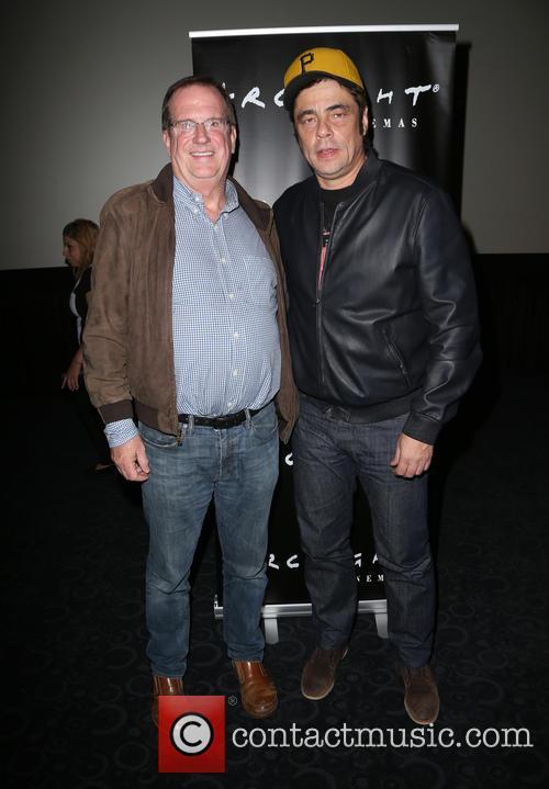 Benicio Del Toro and Guest 9