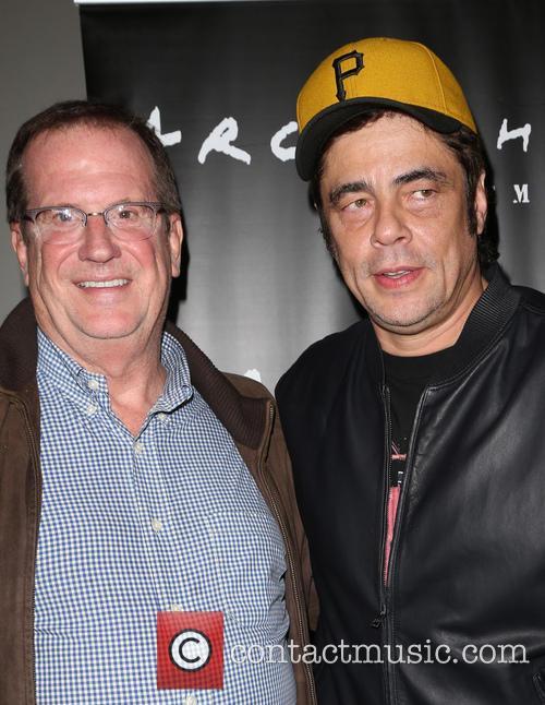 Benicio Del Toro and Guest 11