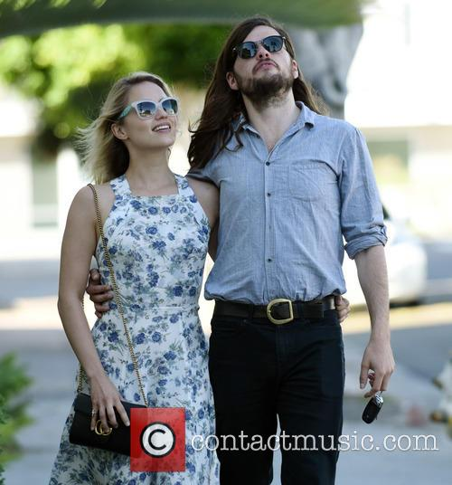 Dianna Agron and Winston Marshall 3