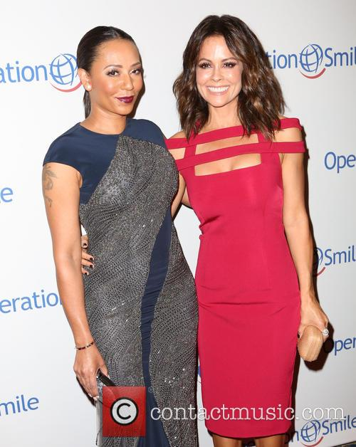 Mel B and Brooke Burke-charvet 2