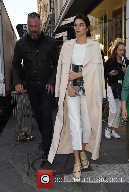 Kendall Jenner leaving Colette