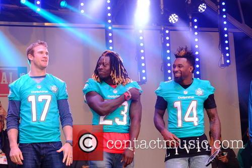 Ryan Tannehill, Odell Beckham Jr and Jay Ajayi 1