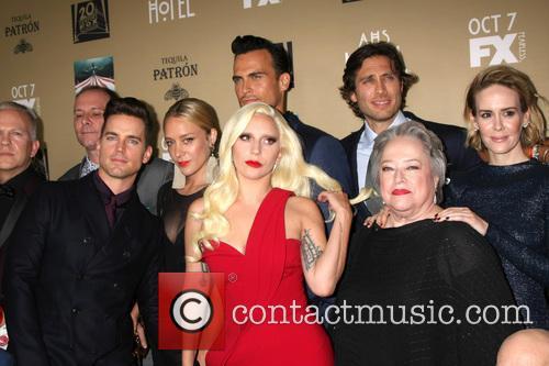 Matt Bomer, Chole Sevigny, Cheyenne Jackson, Lady Gaga, Brad Falchuk, Kathy Bates and Sarah Paulson 3