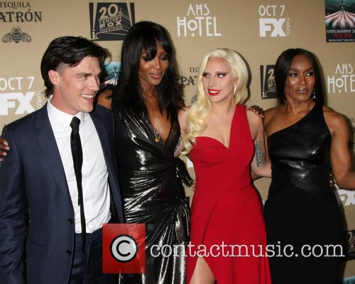 Finn Wittrock, Naomi Campbell, Lady Gaga and Angela Bassett 1
