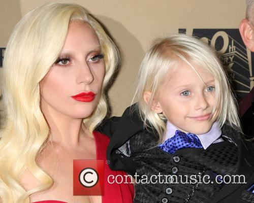 Lady Gaga and Lennon Henry 3