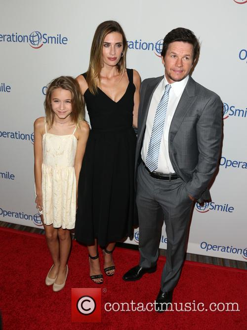 Ella Rae Wahlberg, Rhea Durham and Mark Wahlberg 4
