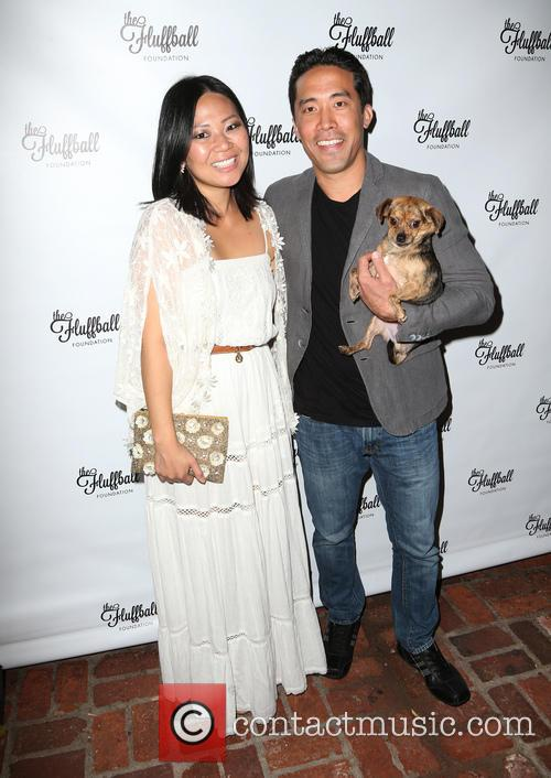 Emmanuelle Vaugier, Linda Ching and Marc Ching 2
