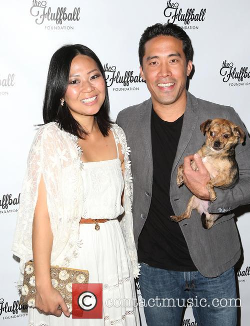 Emmanuelle Vaugier, Linda Ching and Marc Ching 1