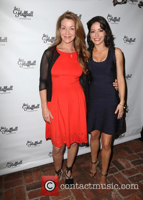 Claudia Christian and Emmanuelle Vaugier 2