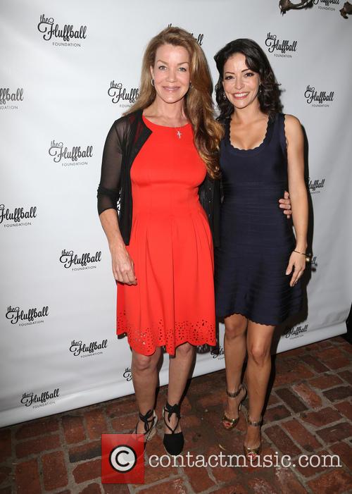 Claudia Christian and Emmanuelle Vaugier 3