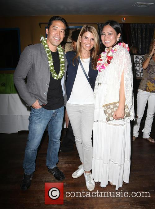Marc Ching, Lori Loughlin and Linda Ching 2