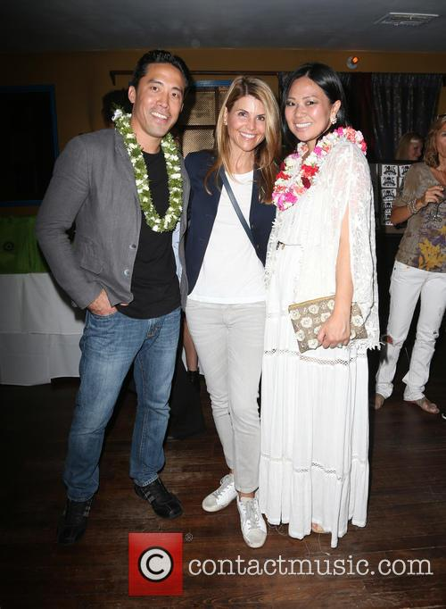 Marc Ching, Lori Loughlin and Linda Ching 3