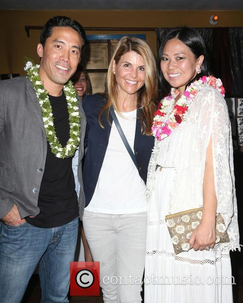 Marc Ching, Lori Loughlin and Linda Ching 4