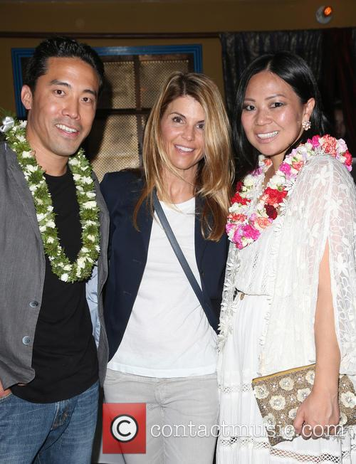 Marc Ching, Lori Loughlin and Linda Ching 5