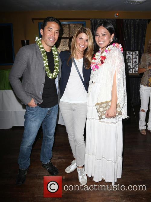 Marc Ching, Lori Loughlin and Linda Ching 1