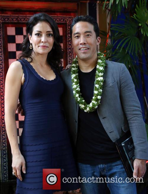 Emmanuelle Vaugier and Marc Ching 1