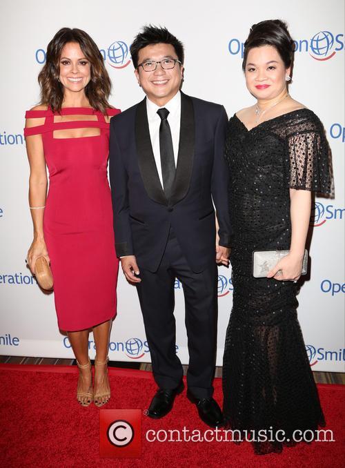 Brooke Burke, Henry Nguyen and Phuong Nguyen 2