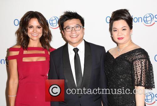 Brooke Burke, Henry Nguyen and Phuong Nguyen 1