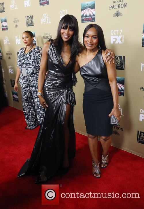 Naomi Campbell and Angela Bassett 2