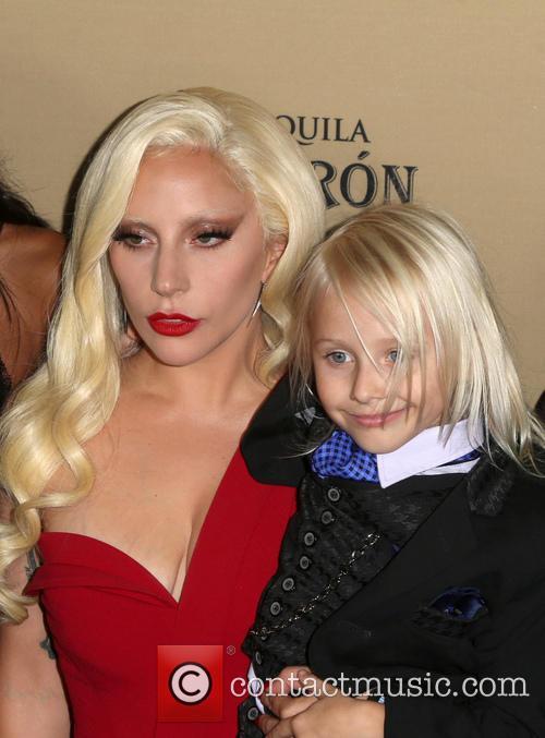 Lady Gaga and Lennon Henry 2