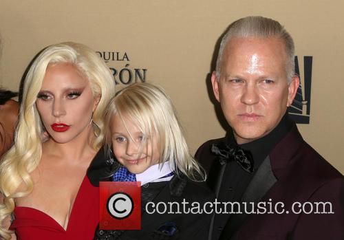 Lady Gaga, Lennon Henry and Ryan Murphy 1