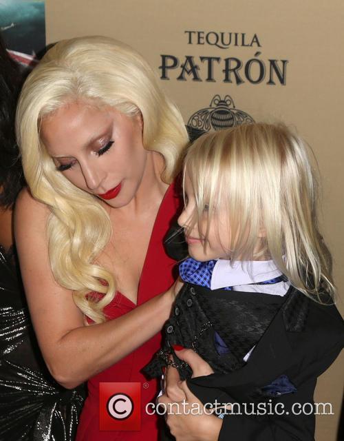 Lady Gaga and Lennon Henry 1