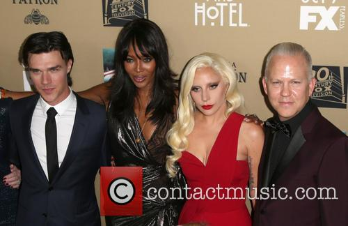 Finn Wittrock, Naomi Campbell, Lady Gaga and Ryan Murphy 2