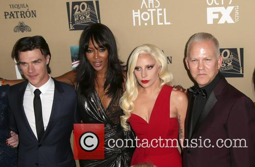 Finn Wittrock, Naomi Campbell, Lady Gaga and Ryan Murphy 1
